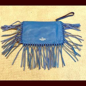 Valentino Fringe Clutch new with tags!